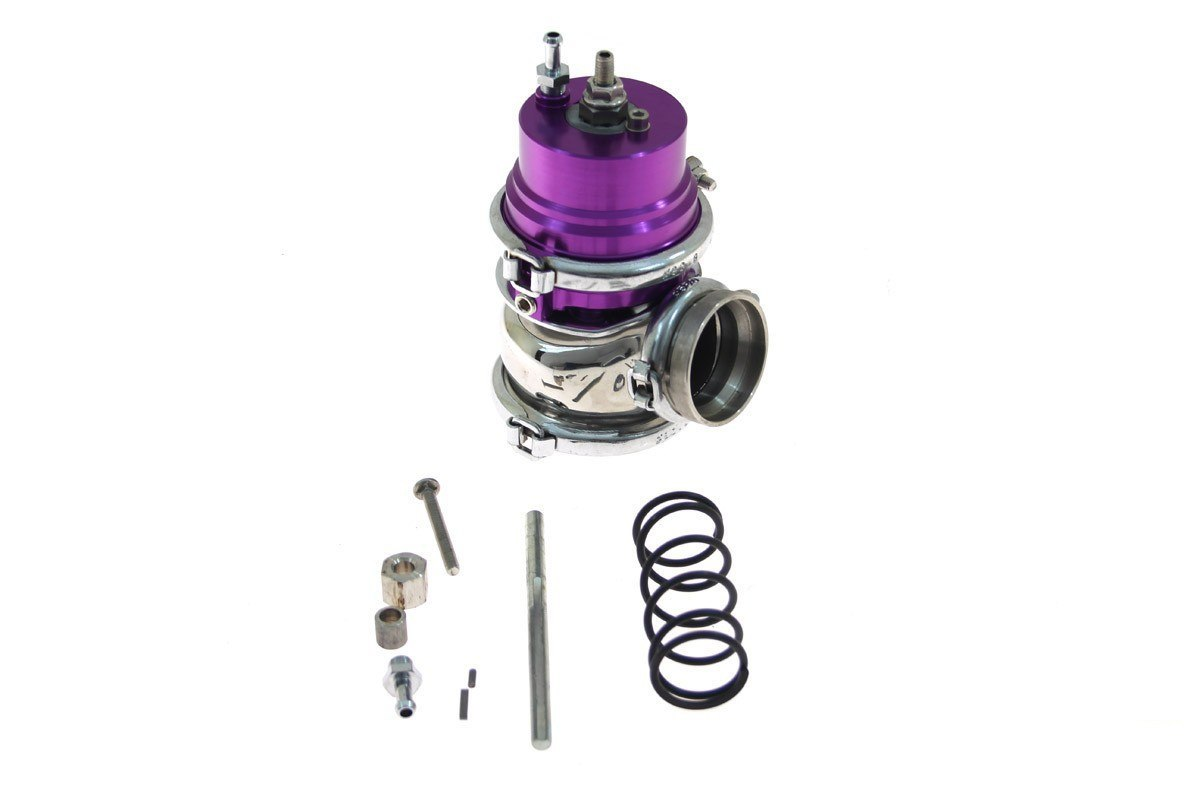 Wastegate zewnętrzny TurboWorks 50mm 1,6 Bar V-Band Purple - GRUBYGARAGE - Sklep Tuningowy